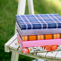 Kate Spade fabric journals